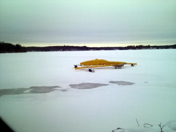 Bantam Lake CT 1/26/14