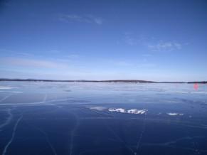 Miles of black ice