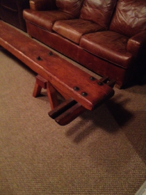 Club 6- Plank and Chock Foot Bench