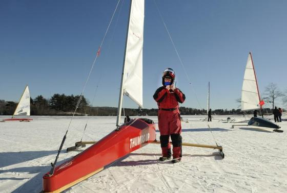 Chickawaukie Ice Boat Club | Maine ice boat enthusiasts and friends